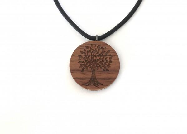 Halskette mit Gravur Lebensbaum