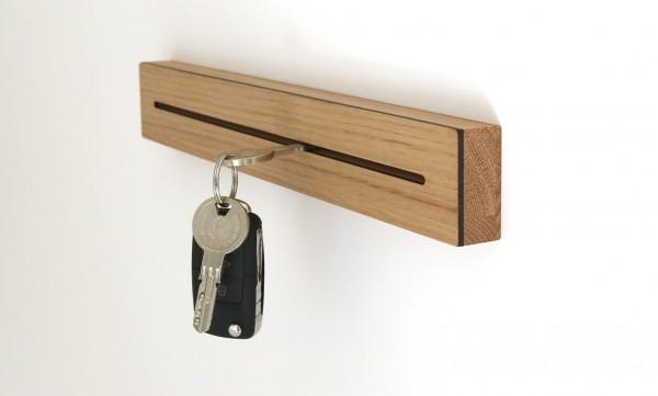 Schlüsselbrett aus Holz, Eiche