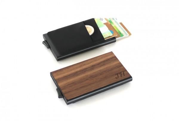 Kreditkartenetui personalisiert mit individueller Gravur