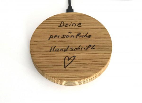 Geschenke mit deiner Handschrift, individuell als Lasergravur