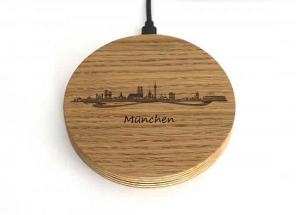 Geschenke mit Skyline deiner Stadt aus Holz