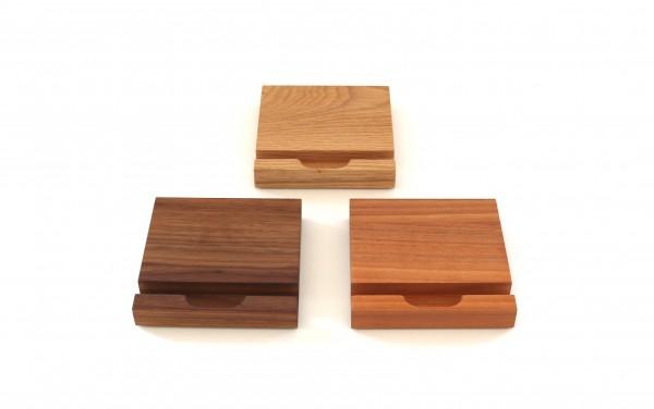 iPad Halterung aus Holz